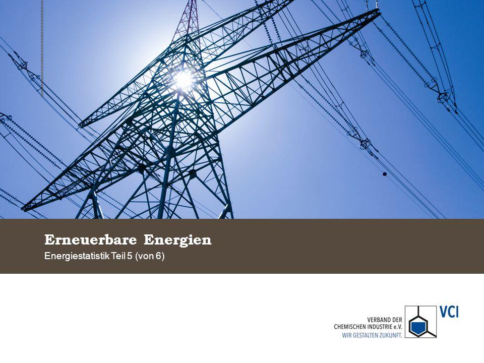 Energiestatistik Teil 5 (von 6)
