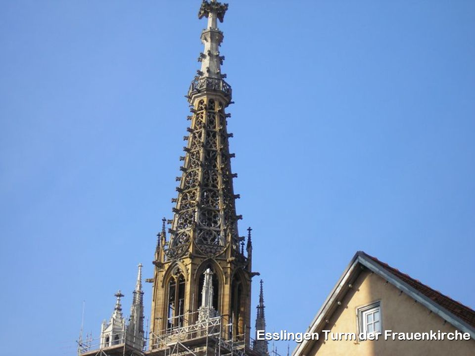 Esslingen Turm der Frauenkirche