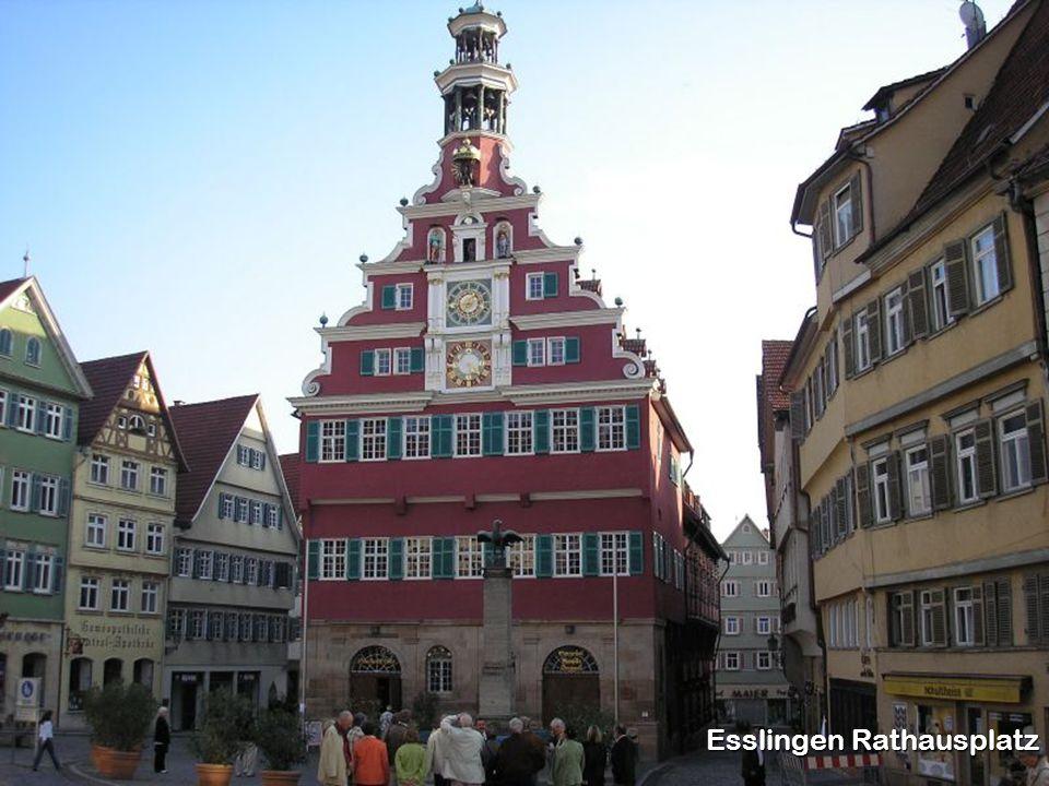Esslingen Rathausplatz