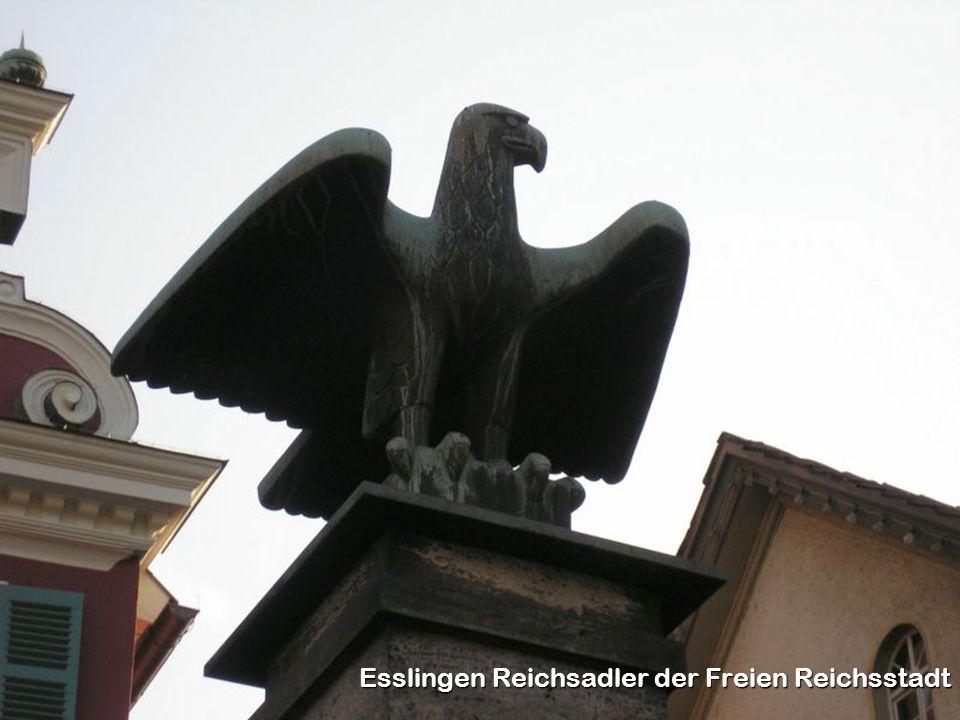 Esslingen Reichsadler der Freien Reichsstadt