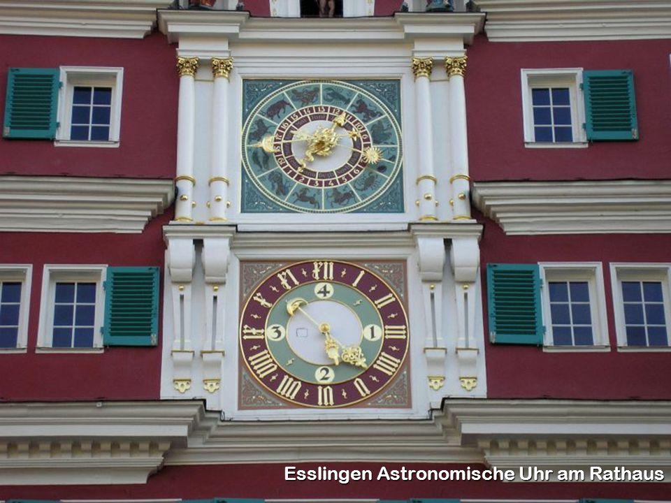 Esslingen Astronomische Uhr am Rathaus