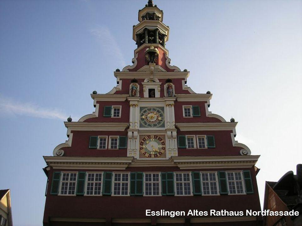 Esslingen Altes Rathaus Nordfassade