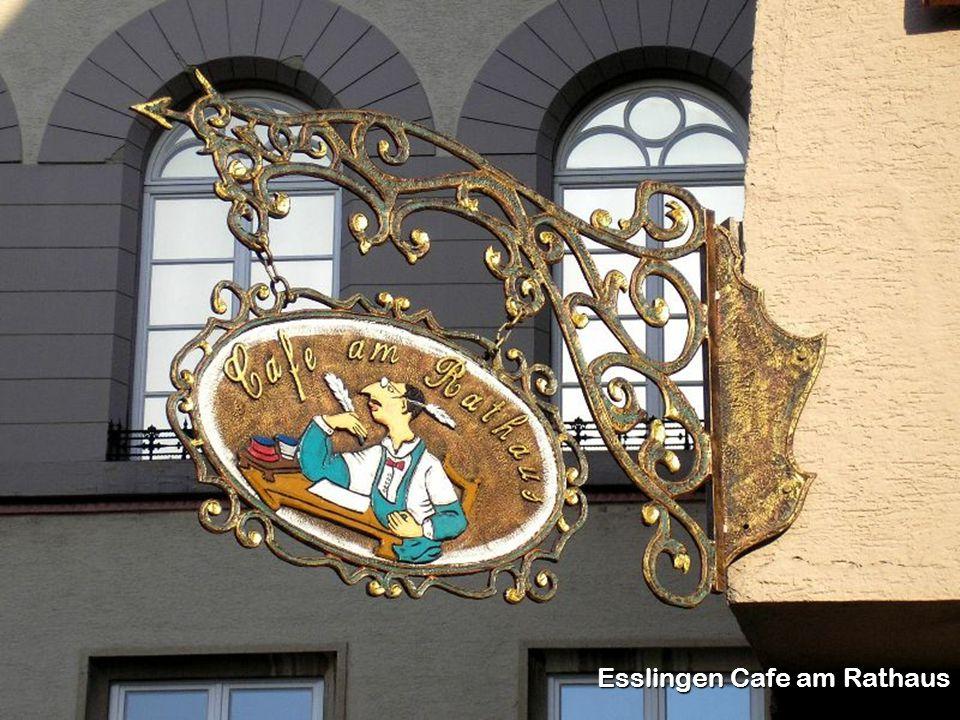 Esslingen Cafe am Rathaus