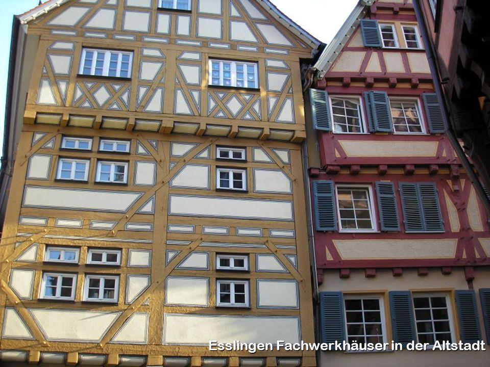 Esslingen Fachwerkhäuser in der Altstadt