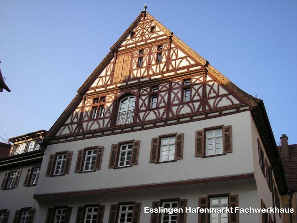 Esslingen Hafenmarkt Fachwerkhaus