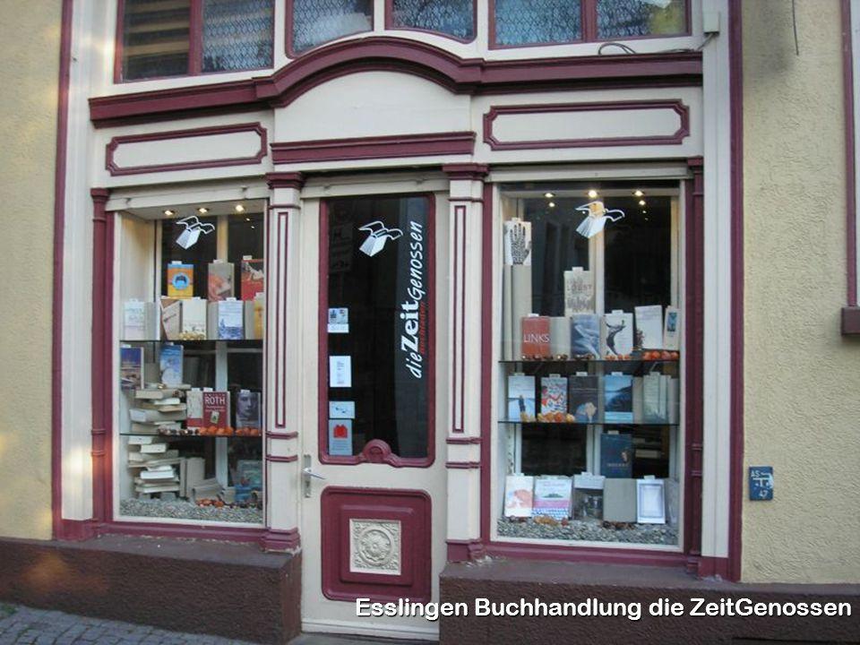 Esslingen Buchhandlung die ZeitGenossen