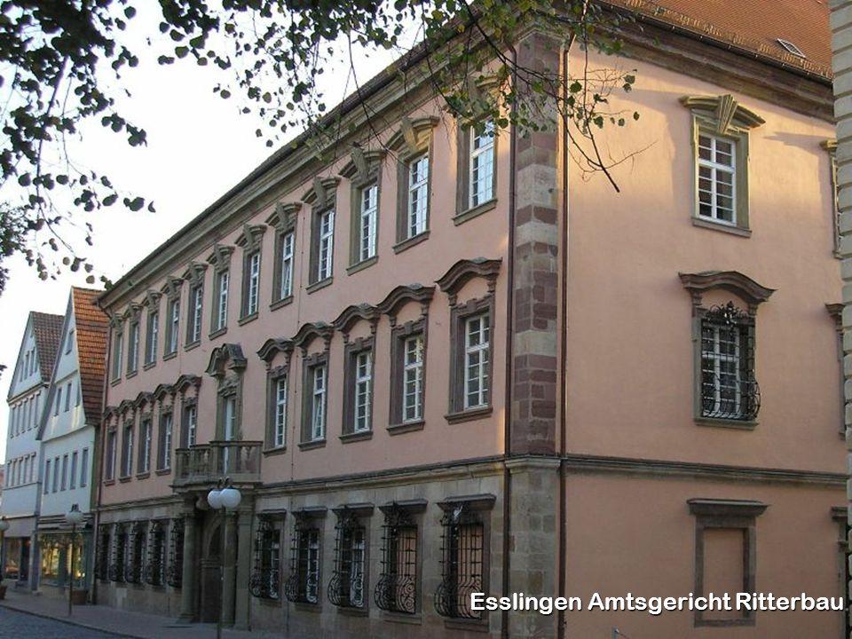 Esslingen Amtsgericht Ritterbau