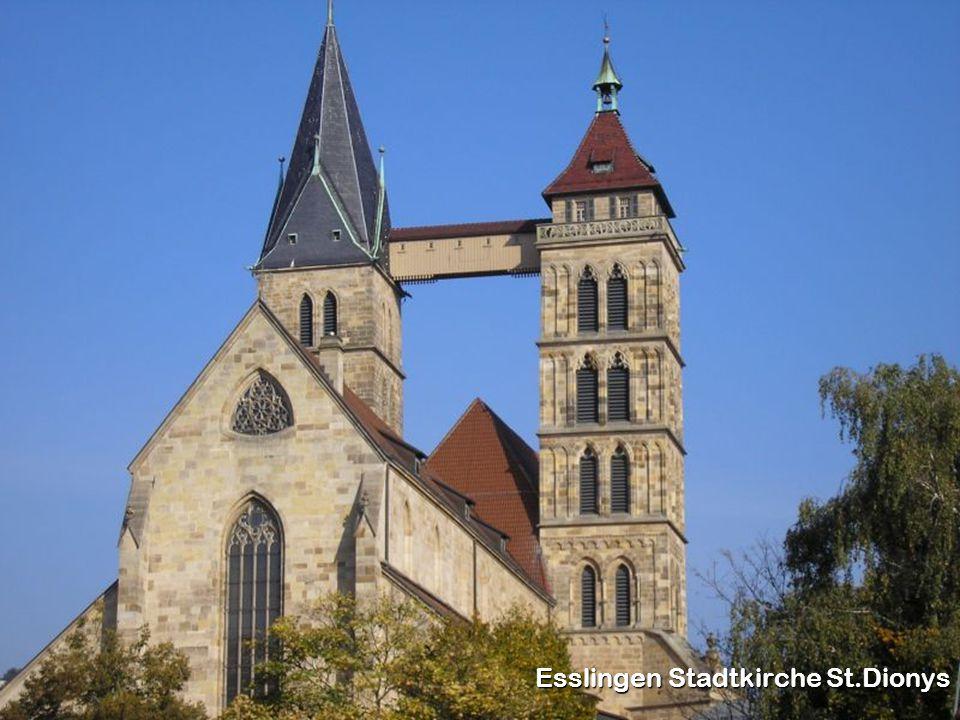 Esslingen Stadtkirche St.Dionys