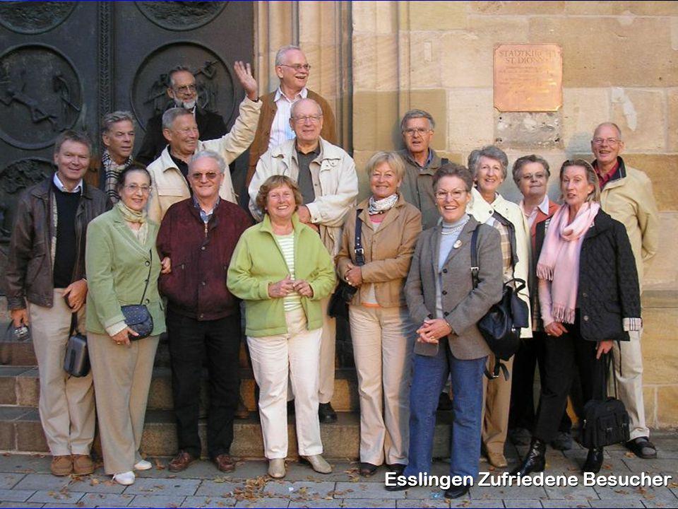 Esslingen Zufriedene Besucher