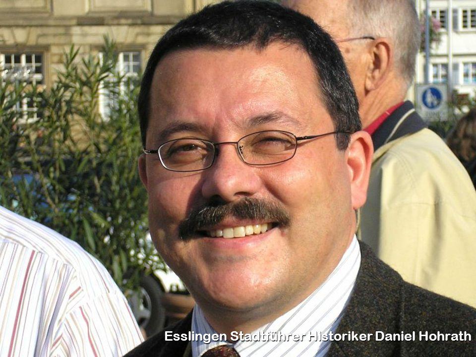 Esslingen Stadtführer Historiker Daniel Hohrath