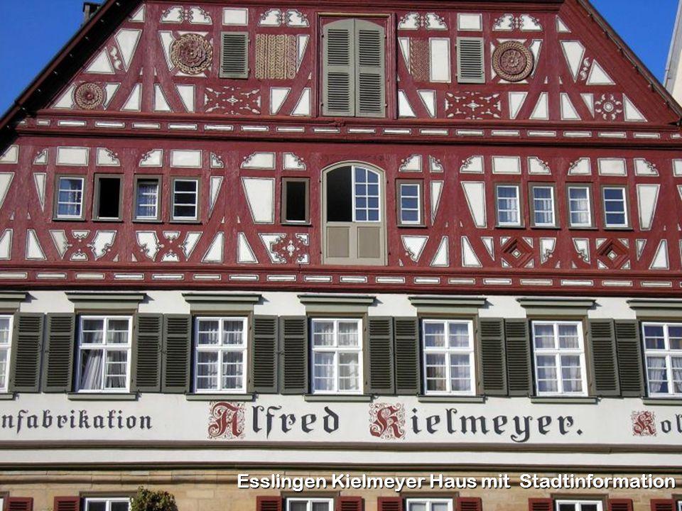 Esslingen Kielmeyer Haus mit Stadtinformation