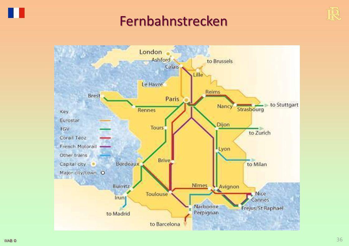 Fernbahnstrecken