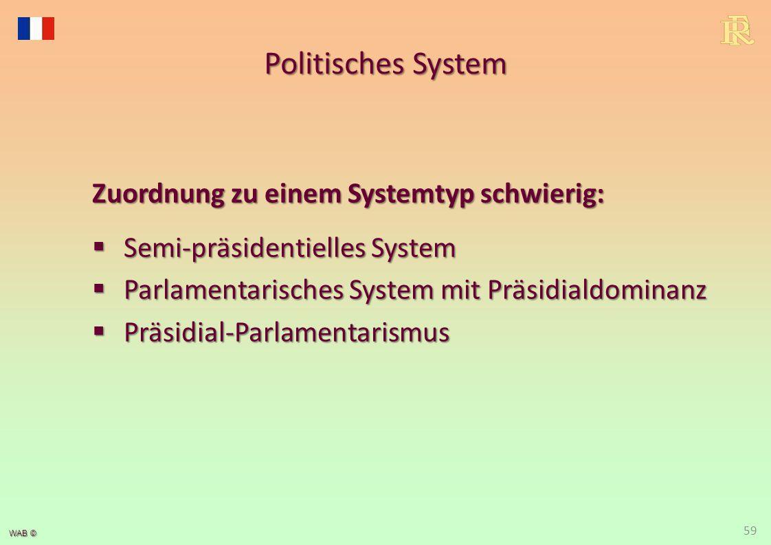 Mischcharakter des Politischen Systems