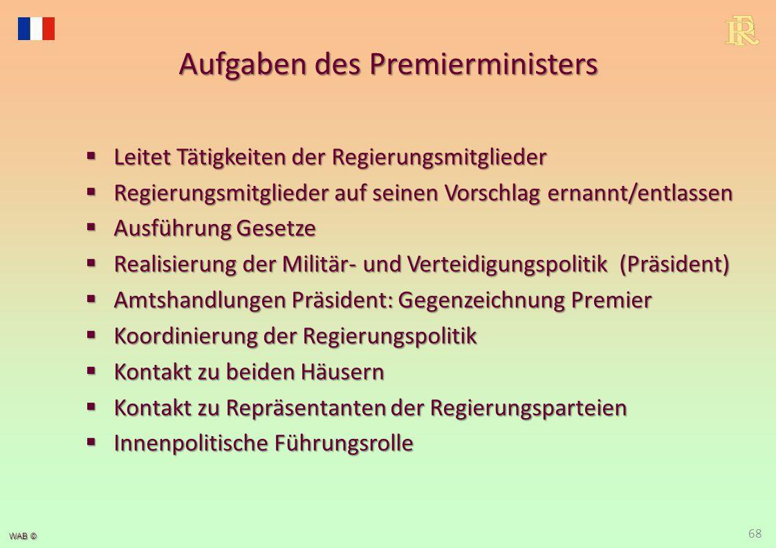 """Parlament schwaches Parlament in V. Republik => Reaktion auf zu """"starkes Parlament. besteht aus 2 Kammern."""