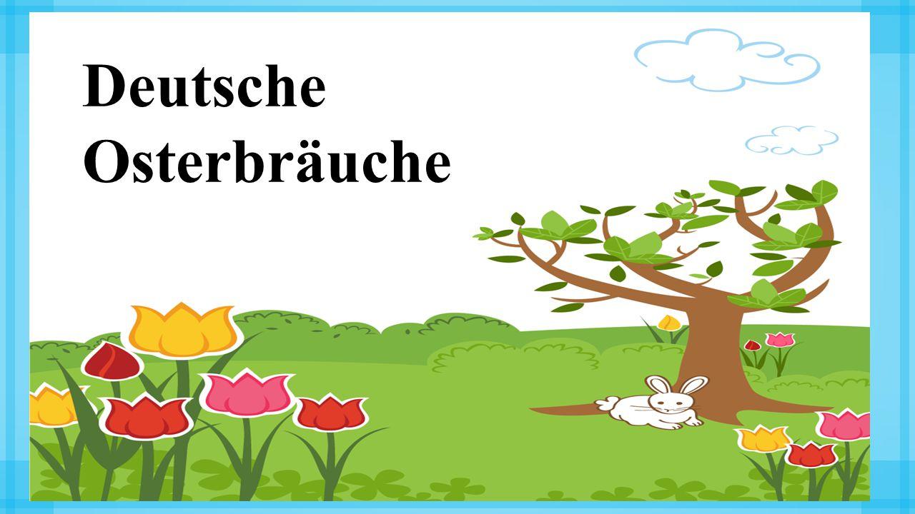 Deutsche Osterbräuche