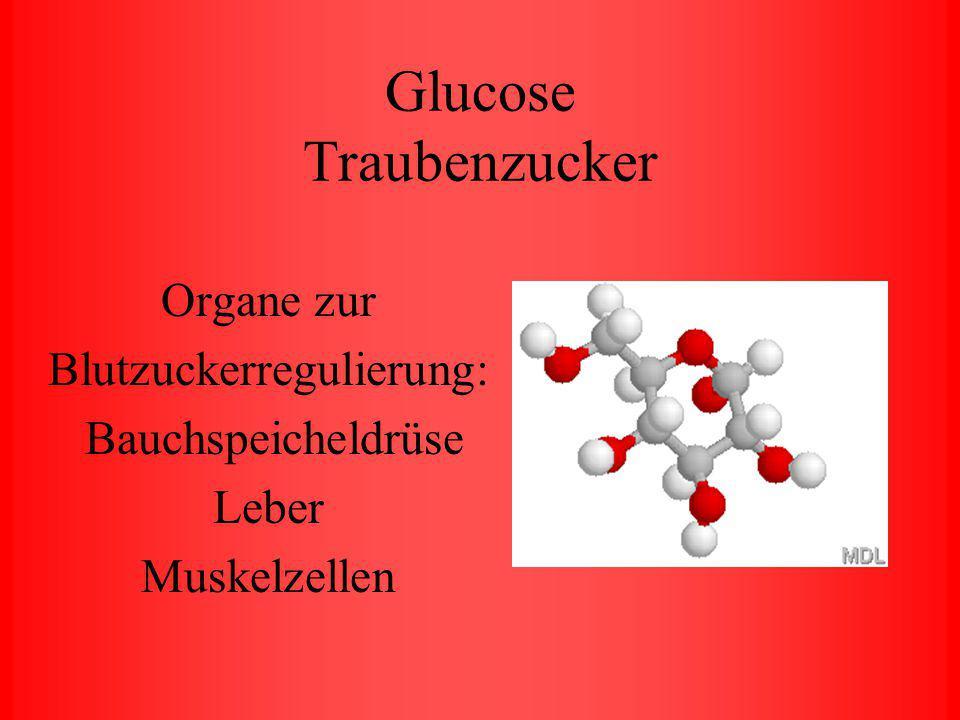 Glucose Traubenzucker