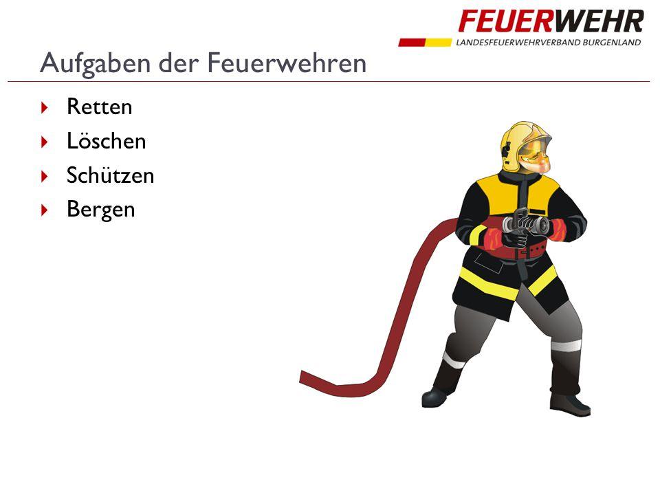 Aufgaben der Feuerwehren