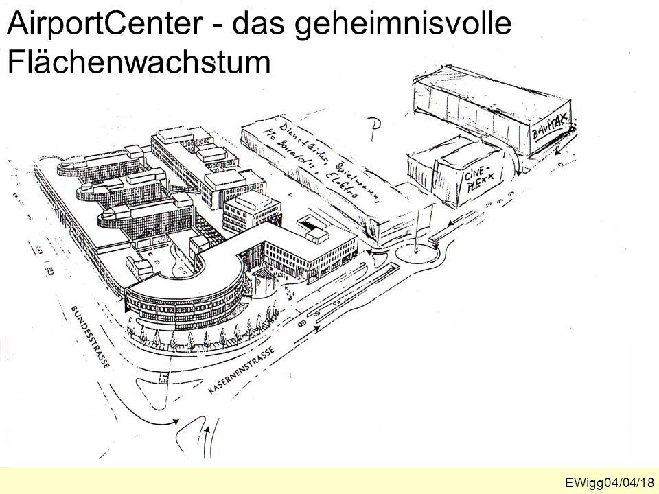 AirportCenter - das geheimnisvolle Flächenwachstum