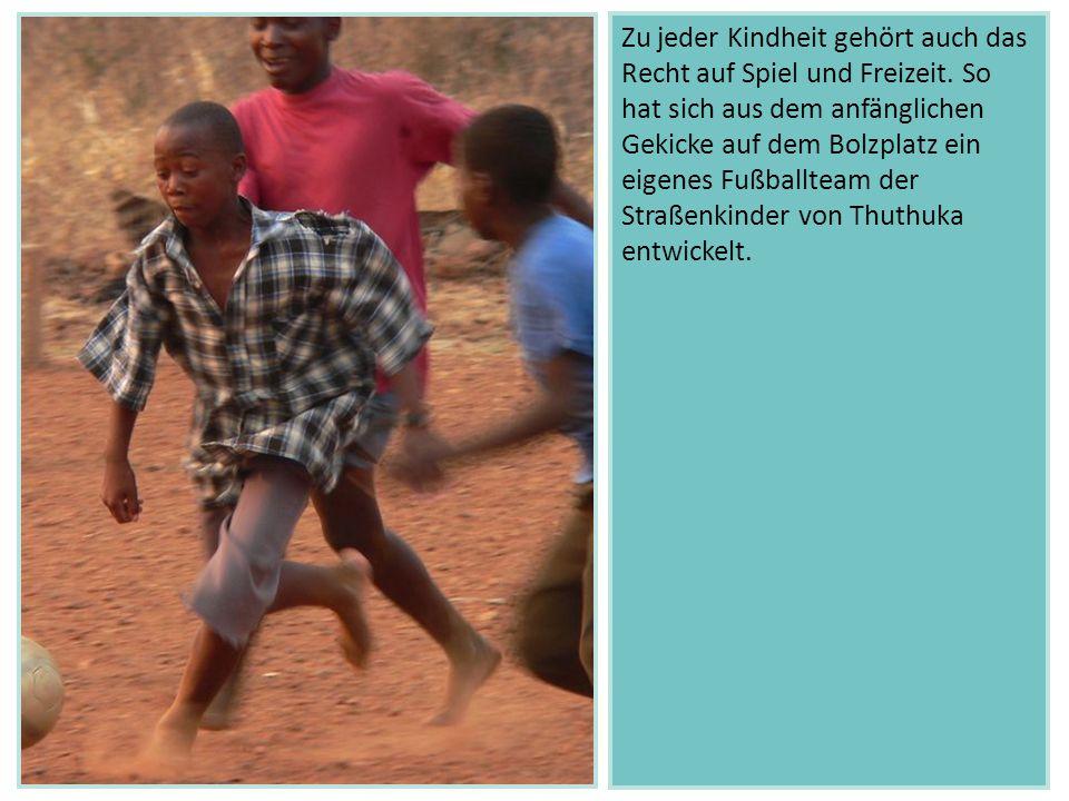 Zu jeder Kindheit gehört auch das Recht auf Spiel und Freizeit