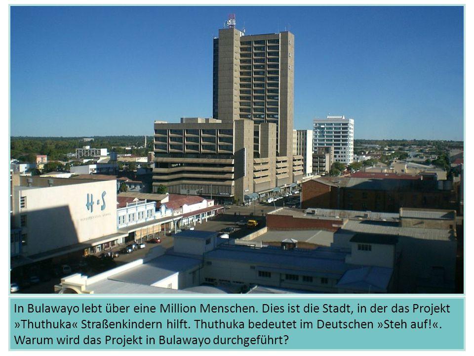 In Bulawayo lebt über eine Million Menschen