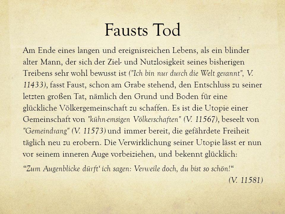 Fausts Tod