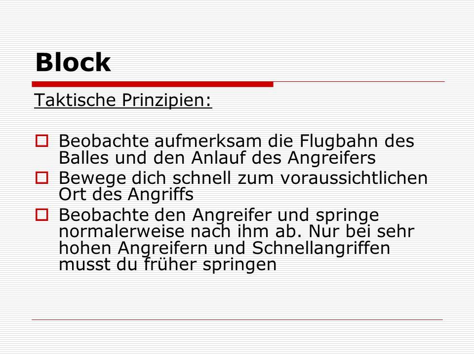 Block Taktische Prinzipien: