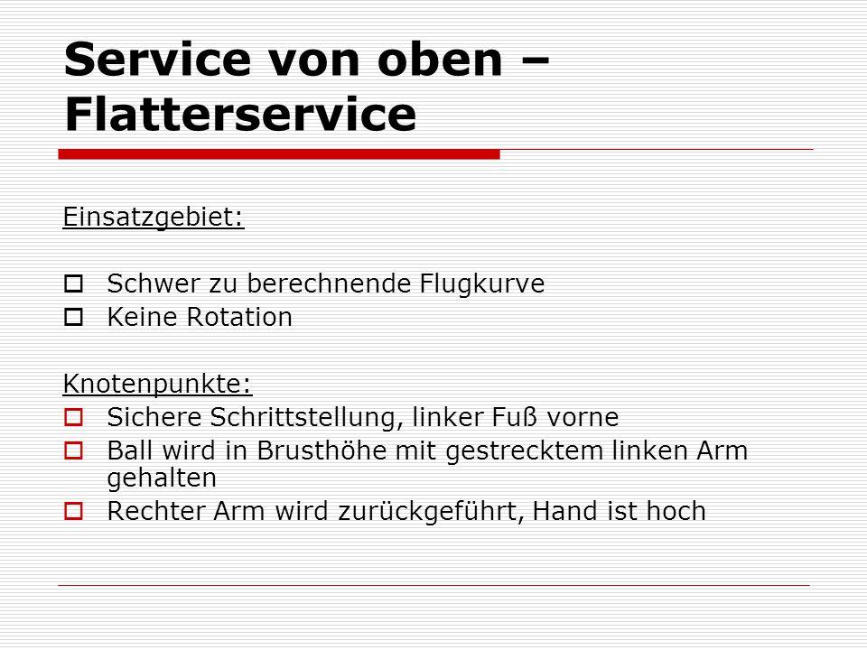 Service von oben – Flatterservice