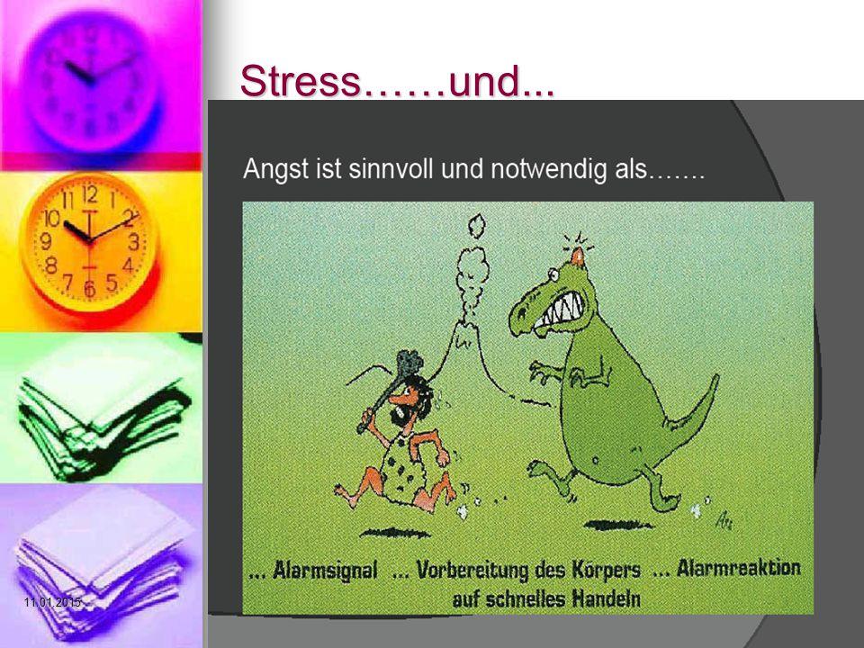 Stress……und... 08.04.2017