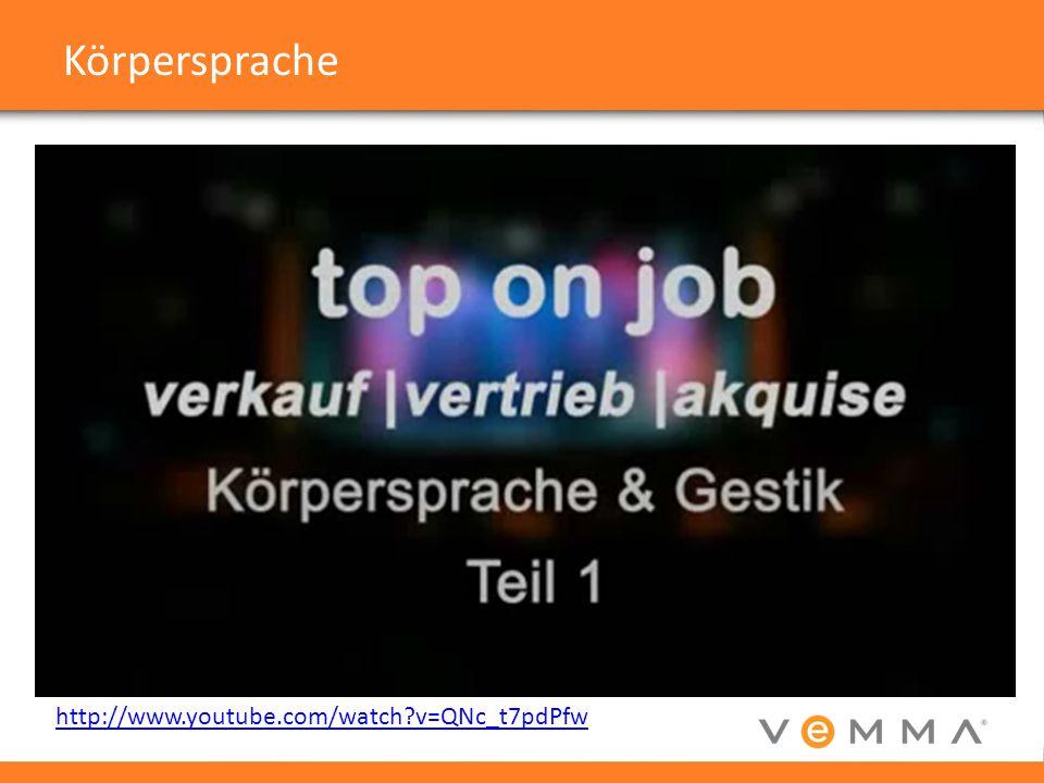 Körpersprache http://www.youtube.com/watch v=QNc_t7pdPfw