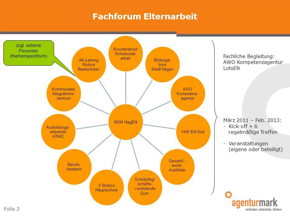 Aktivitäten Information & Sensibilisierung Qualifizierung