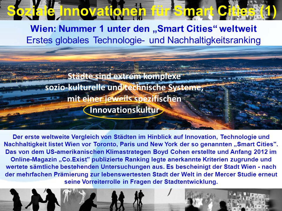 Soziale Innovationen für Smart Cities (1)