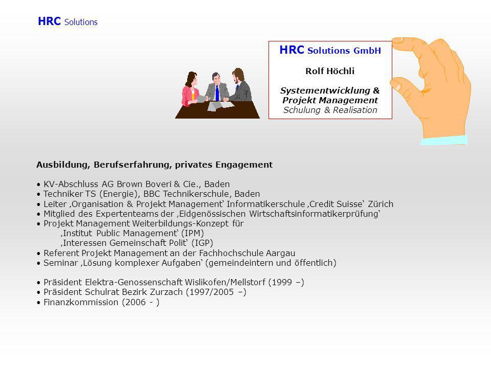 Systementwicklung & Projekt Management