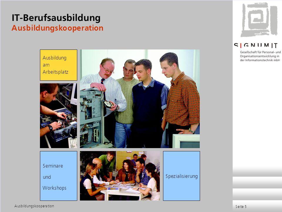 IT-Berufsausbildung Ausbildungskooperation