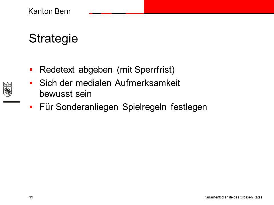 Strategie Redetext abgeben (mit Sperrfrist)