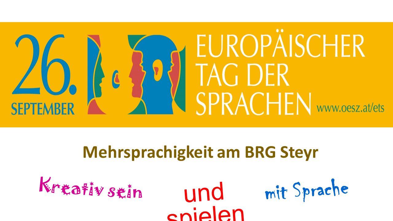 Mehrsprachigkeit am BRG Steyr
