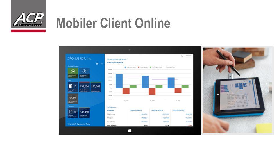 Mobiler Client Online