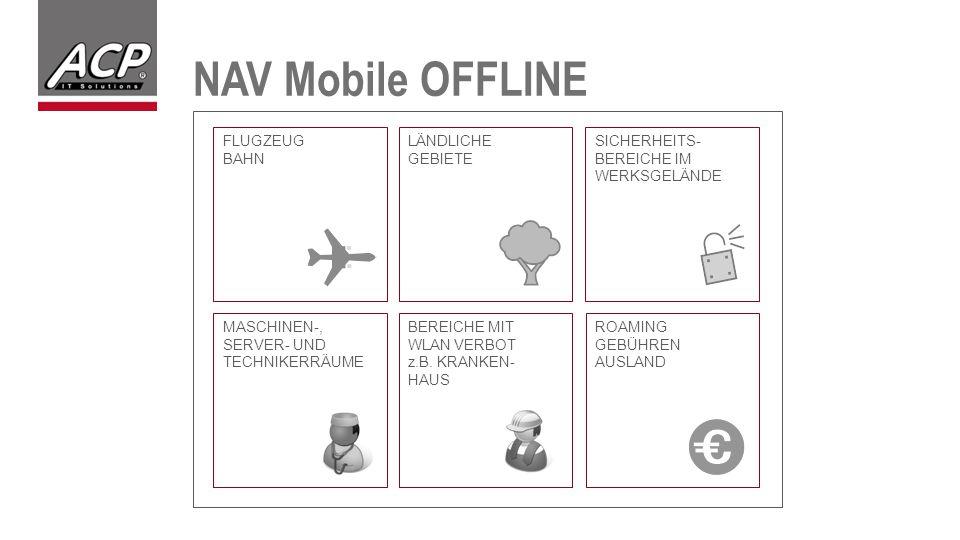 NAV Mobile OFFLINE FLUGZEUG BAHN LÄNDLICHE GEBIETE SICHERHEITS-