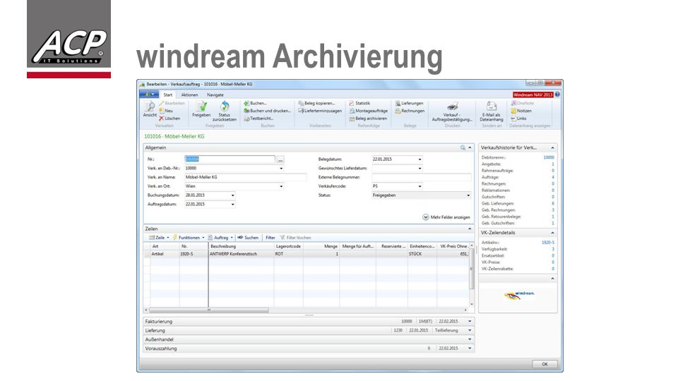 windream Archivierung