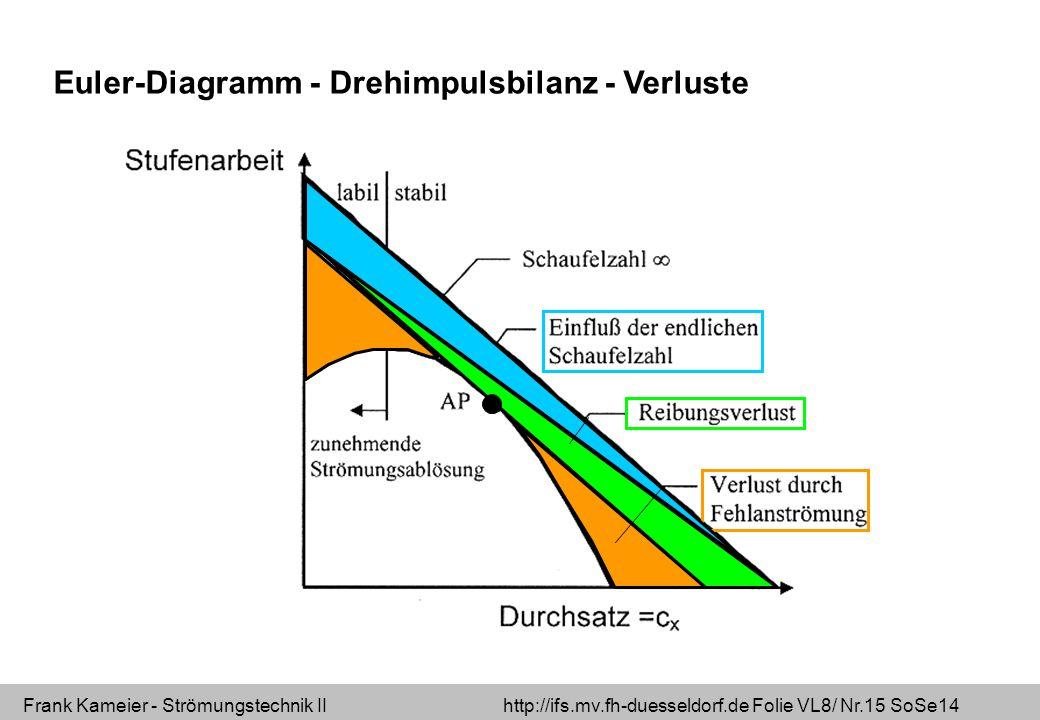 Euler-Diagramm - Drehimpulsbilanz - Verluste