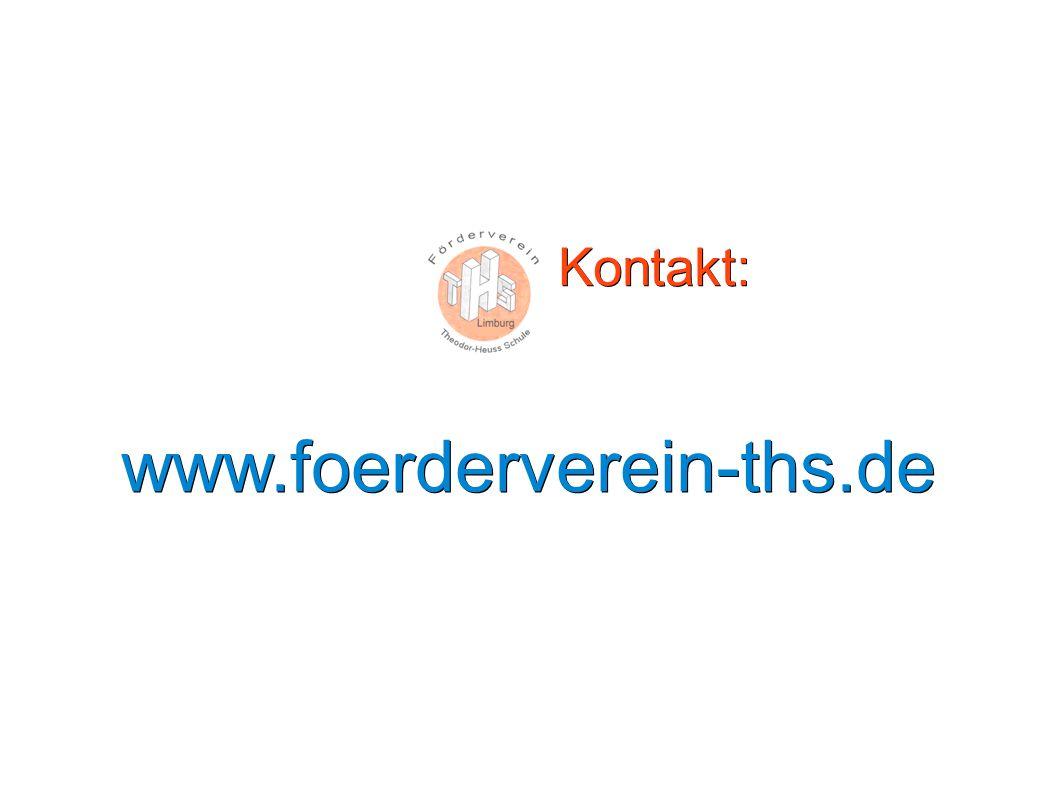 Kontakt: www.foerderverein-ths.de