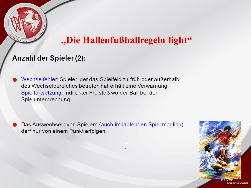 """""""Die Hallenfußballregeln light"""