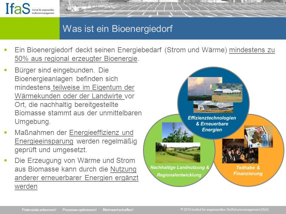 Was ist ein Bioenergiedorf