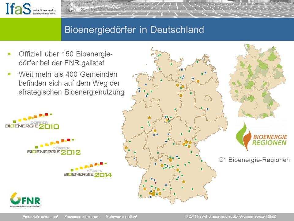 Bioenergiedörfer in Deutschland