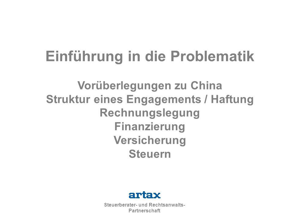 Einführung in die Problematik