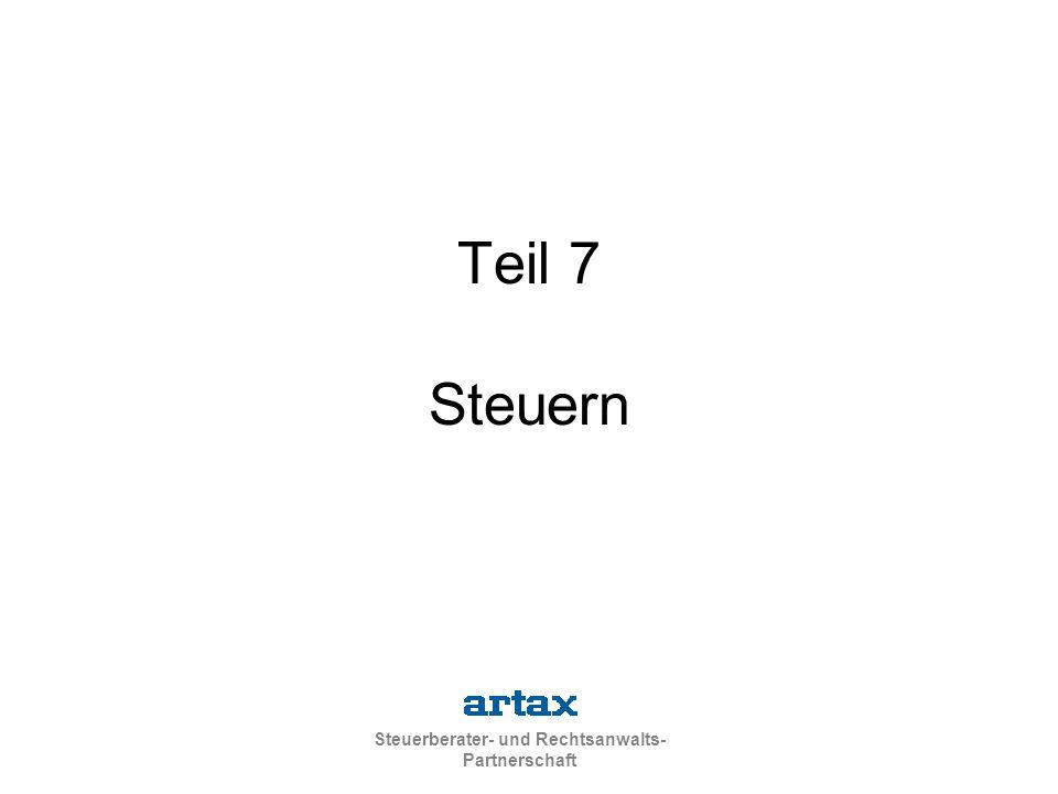 Teil 7 Steuern