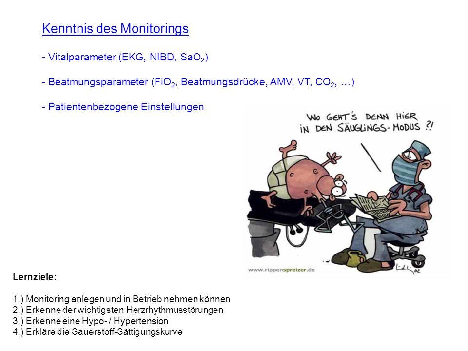 Kenntnis des Monitorings