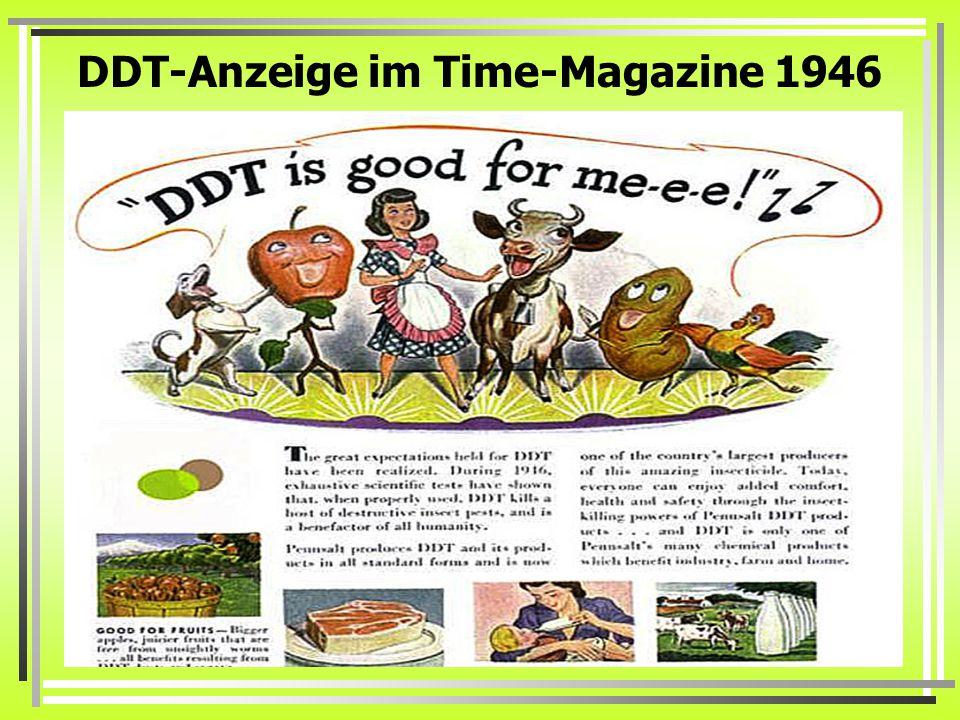 DDT-Anzeige im Time-Magazine 1946
