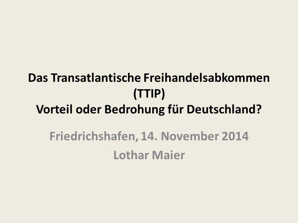 Friedrichshafen, 14. November 2014 Lothar Maier