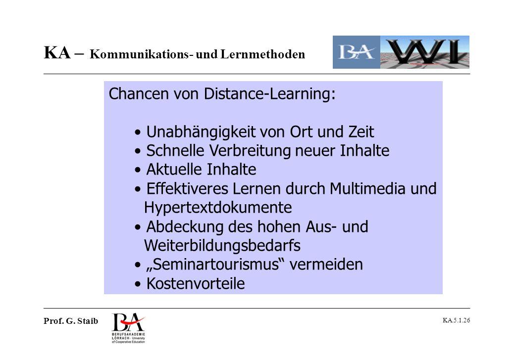 Chancen von Distance-Learning: Unabhängigkeit von Ort und Zeit