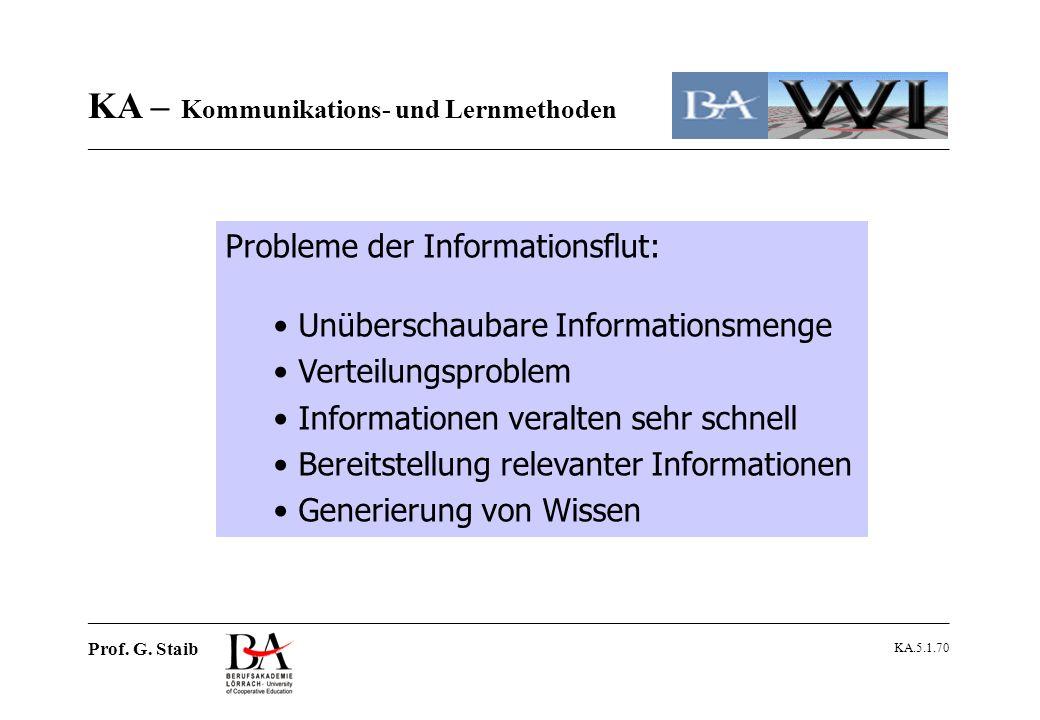 Probleme der Informationsflut: Unüberschaubare Informationsmenge